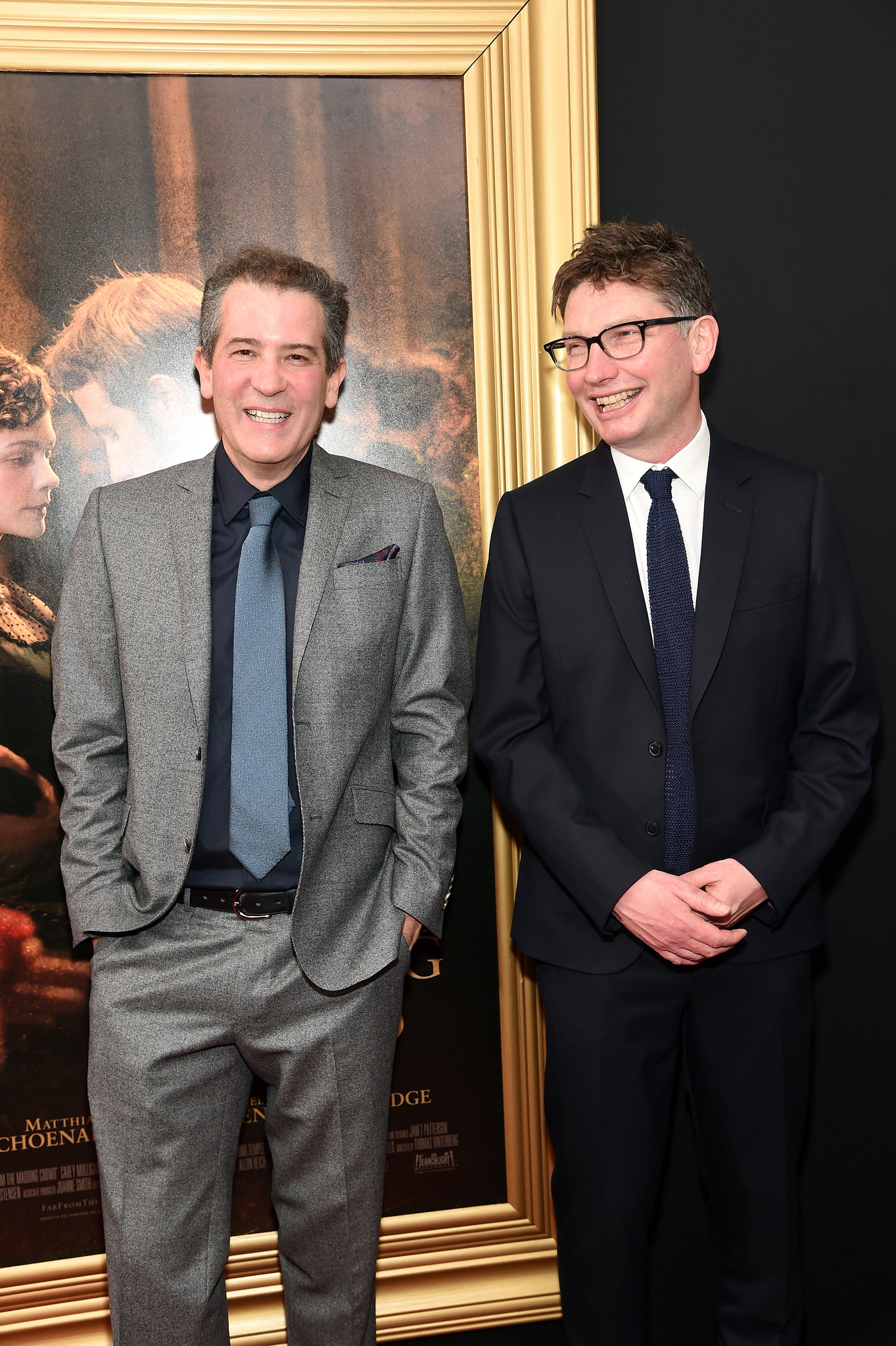 Andrew Macdonald and Allon Reich at an event for Far from the Madding Crowd (2015)
