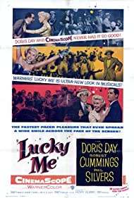 Doris Day, Robert Cummings, and Phil Silvers in Lucky Me (1954)