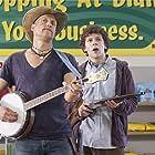 Woody Harrelson and Jesse Eisenberg in Zombieland (2009)