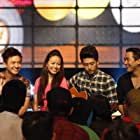 Still of (from left to right) Ngo Kien Huy, Hoang Thuy Linh, Harry Lu and Hua Vi Van in Than Tuong (2013).
