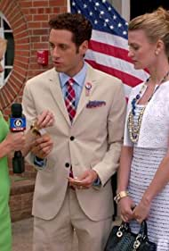 Laura Bell Bundy, Paulo Costanzo, and Brooke D'Orsay in Royal Pains (2009)