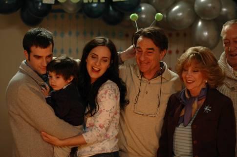 Adriana Aizemberg, Julieta Díaz, Arturo Goetz, Daniel Hendler, and Eloy Burman in Derecho de familia (2006)