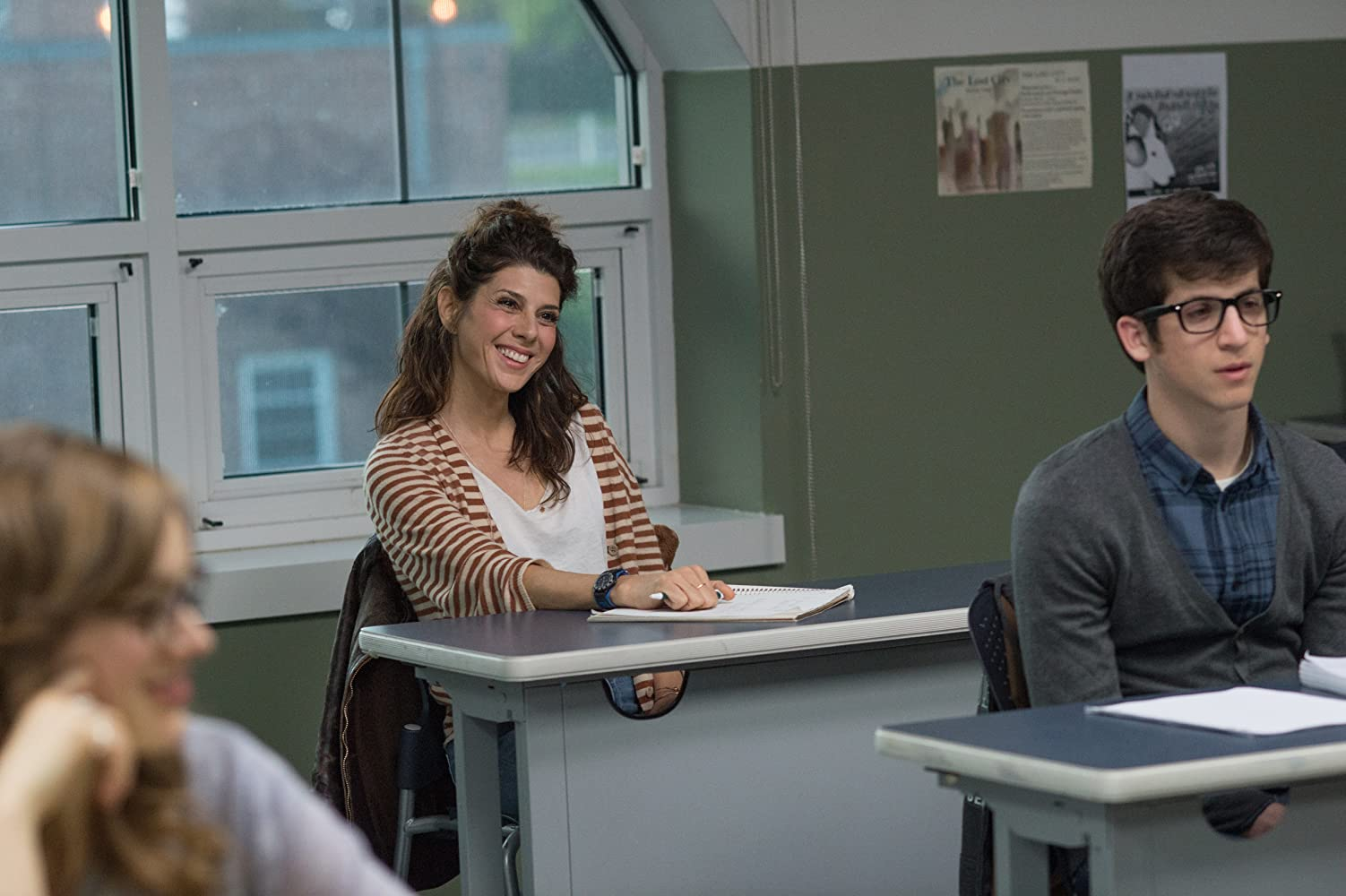 Marisa Tomei and Steven Kaplan in The Rewrite (2014)
