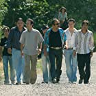 Tolga Çevik, Yilmaz Erdogan, Tuncer Salman, Erdal Tosun, Öner Erkan, Riza Kocaoglu, Ersin Korkut, and Berrak Tüzünataç in Organize Isler (2005)