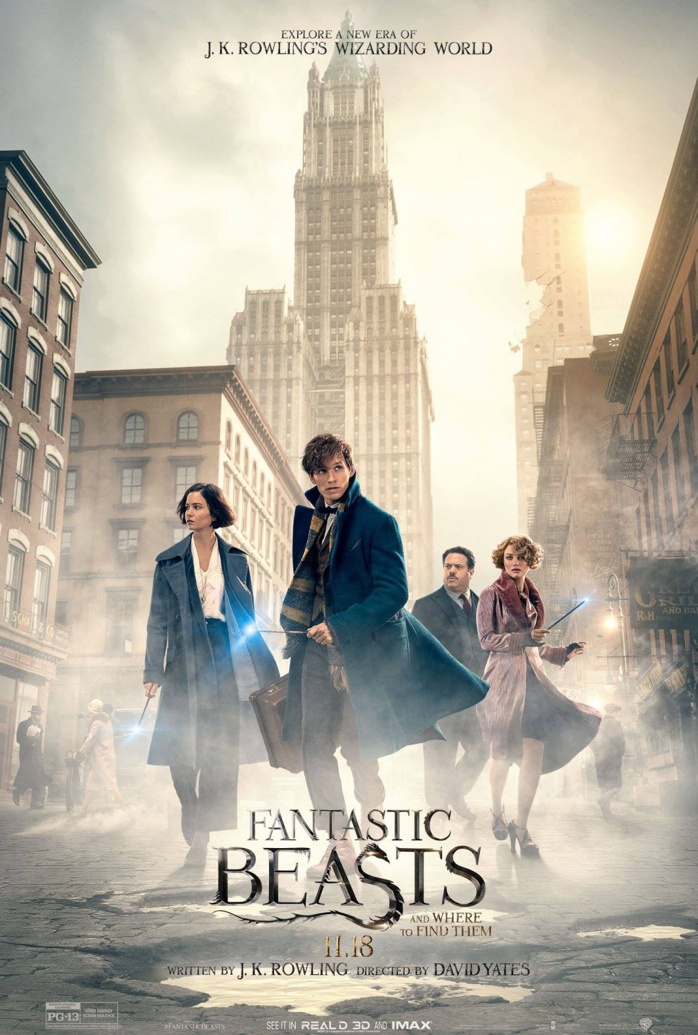 Fantastic Beasts and Where to Find Them (2016) BluRay 480p, 720p, 1080p & 4K-2160p
