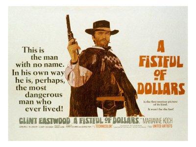 Clint Eastwood in Per un pugno di dollari (1964)