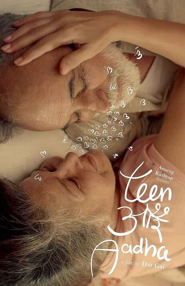 Teen Aur Aadha 2019 WebRip Hindi 720p AMZ Esub