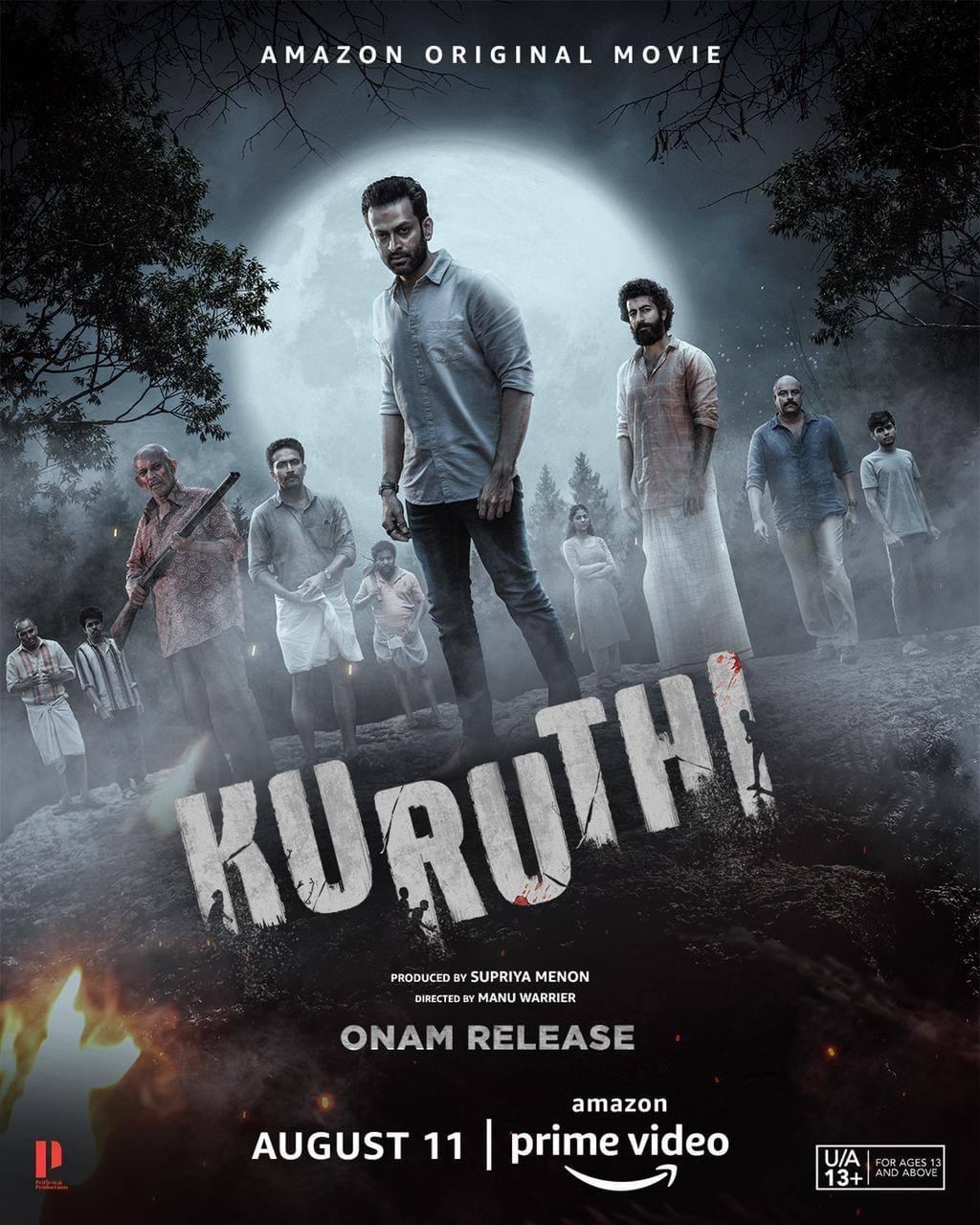 KURUTHI (2021) Malayalam Movie 480p HDRip ESubs 400MB Download