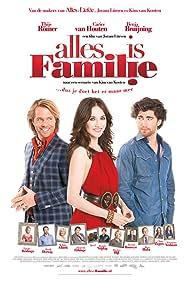 Benja Bruijning, Carice van Houten, and Thijs Römer in Alles is familie (2012)