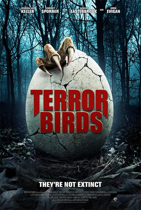 Terror Birds (2016) Hindi Dubbed