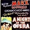 Groucho Marx, Kitty Carlisle, Margaret Dumont, Allan Jones, Chico Marx, and Harpo Marx in A Night at the Opera (1935)