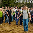 Eddie Cahill, Mike Vogel, Aisha Hinds, Max Ehrich, Mackenzie Lintz, and John Elvis in Under the Dome (2013)