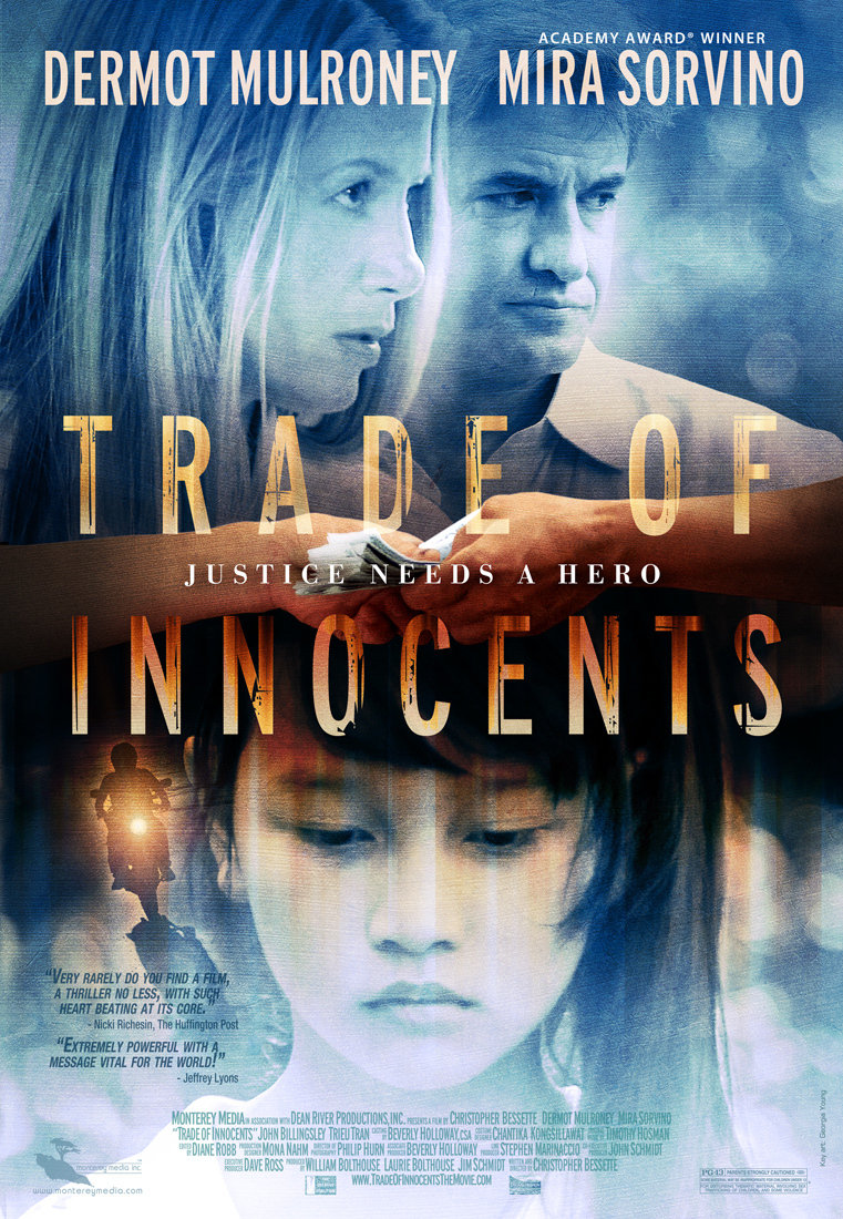 Mira Sorvino and Dermot Mulroney in Trade of Innocents (2012)