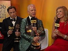 John Travolta, Connie Britton, and Ryan Murphy on