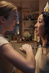 Sandra Oh and Jodie Comer in Killing Eve (2018)