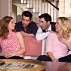Lennon Parham, Jessica St. Clair, Drew Scott, and Jonathan Silver Scott in Playing House (2014)