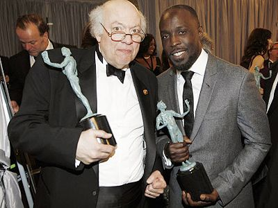 Peter Van Wagner and Michael Kenneth Williams at event SAG Awards (2012)