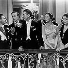 Leslie Howard, Wendy Hiller, Moyna MacGill, Esme Percy, and Scott Sunderland in Pygmalion (1938)