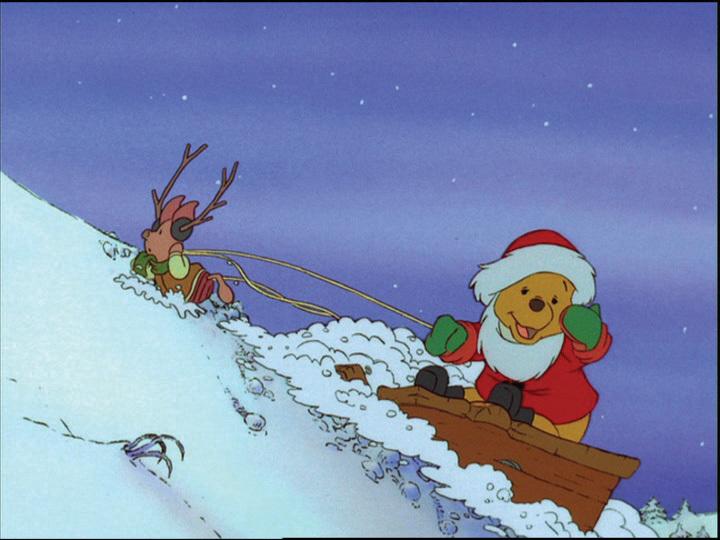 Winnie The Pooh And Christmas Too.Winnie The Pooh Christmas Too 1991