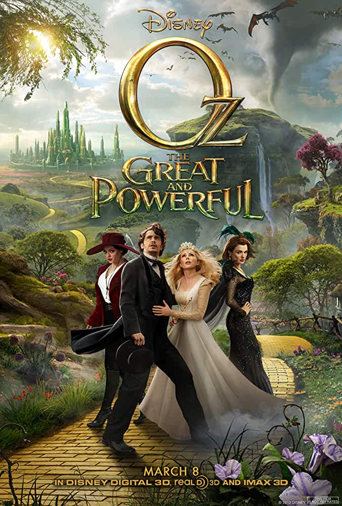 Oz the Great And Powerful (2013) 720p Bluray x264 ESubs [Dual Audio] [Hindi DD 2.0 + English] 999MB Download | Watch Online