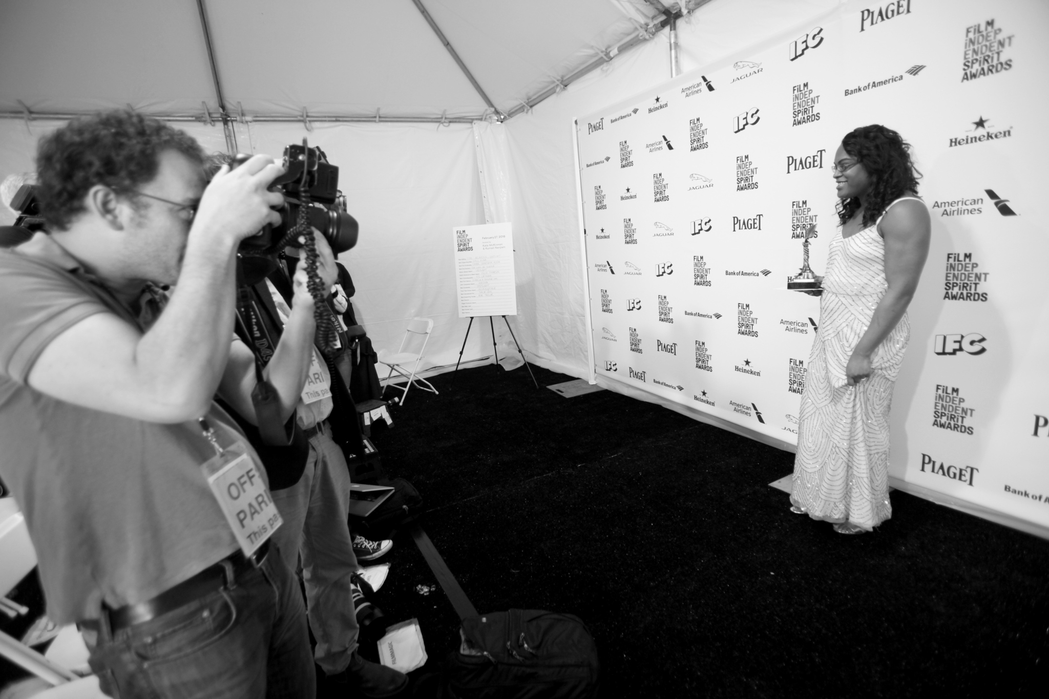 Mya Taylor at an event for 31st Film Independent Spirit Awards (2016)