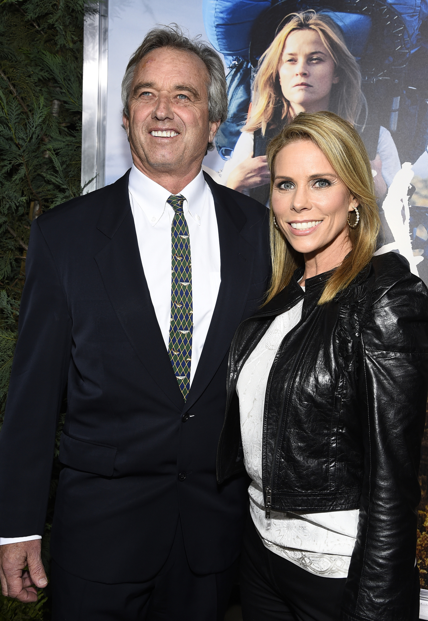 Cheryl Hines and Robert F. Kennedy Jr. at an event for Wild (2014)