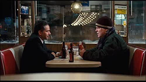 """""""Jack and Clyde Talk in the Diner"""" from Jack Goes Boating"""