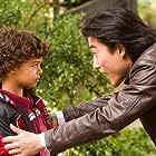 Sean Baek as Jeff on set of Taken From Me: The Tiffany Rubin Story