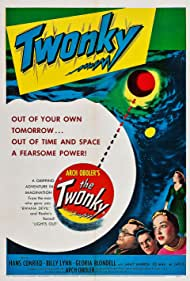 Gloria Blondell, Hans Conried, and Janet Warren in The Twonky (1953)
