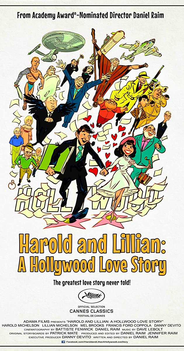 Subtitle of Harold and Lillian: A Hollywood Love Story