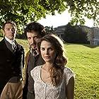 Keri Russell, JJ Feild, and Bret McKenzie in Austenland (2013)