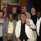 Jonathan Dana, Paul Justman, Alan Slutsky, Paul Elliot, Bob Babbitt, Jack Ashford, Joe Hunter, and David Scott at an event for Standing in the Shadows of Motown (2002)