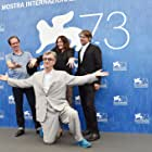 Wim Wenders, Jens Harzer, Sophie Semin, and Reda Kateb at an event for Les beaux jours d'Aranjuez (2016)