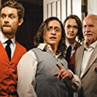 Paul (Matt O`Leary), SIDNEY (Clifton Collins jr.), JULIA (Jessica Cook) and MAYOR CARUTHERS (Lance Henriksen) discover the wasp infestion.