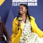 Aïssa Maïga and Maxwell Simba at an event for The IMDb Studio at Sundance (2015)