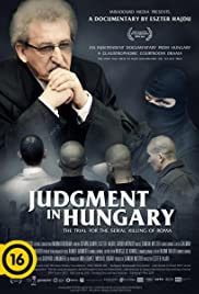 Judgment in Hungary Poster