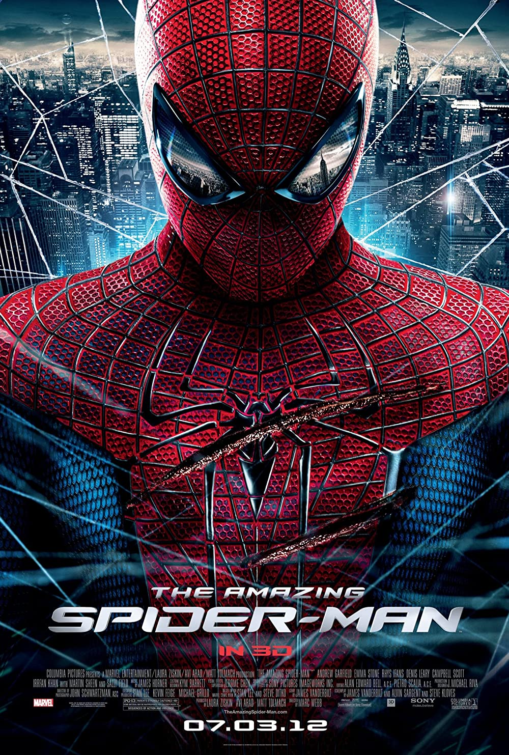 The Amazing Spider Man 2012 Hindi Dual Audio 500MB BluRay ESubs Download