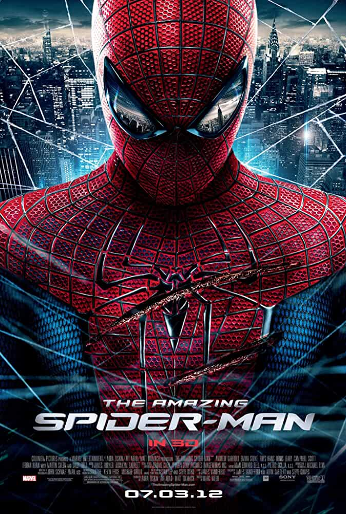 The Amazing Spider-Man 2012 Movie BluRay Dual Audio Hindi Eng 400mb 480p 1.4GB 720p 5GB 10GB 1080p