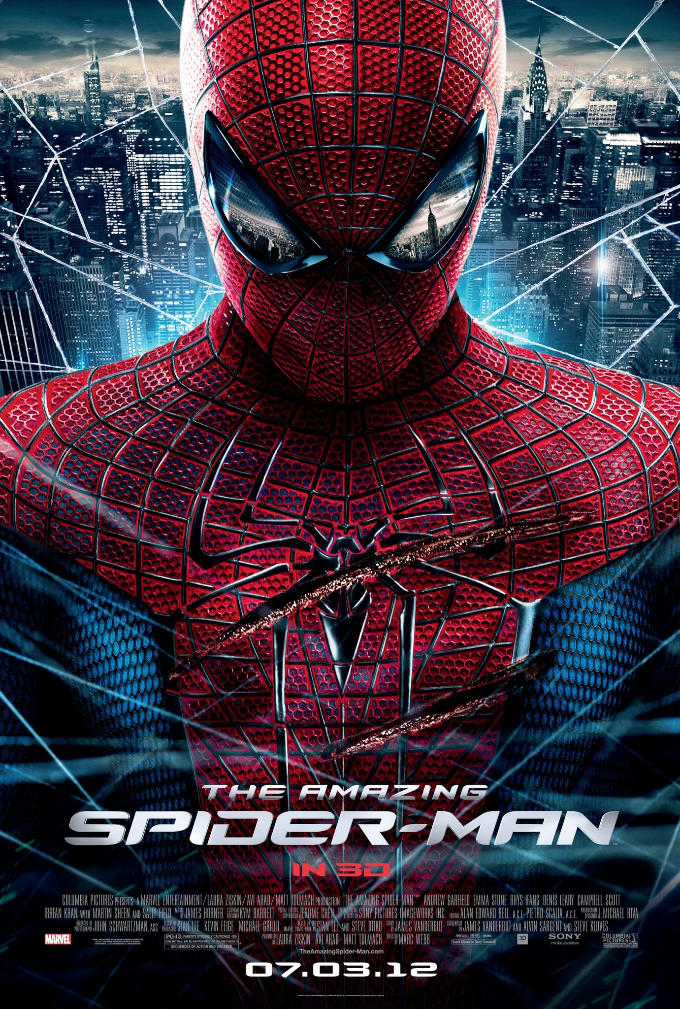 The Amazing Spider-Man (2012) BluRay 480p, 720p & 1080p