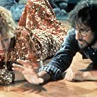 Steven Spielberg and Kate Capshaw in Indiana Jones and the Temple of Doom (1984)