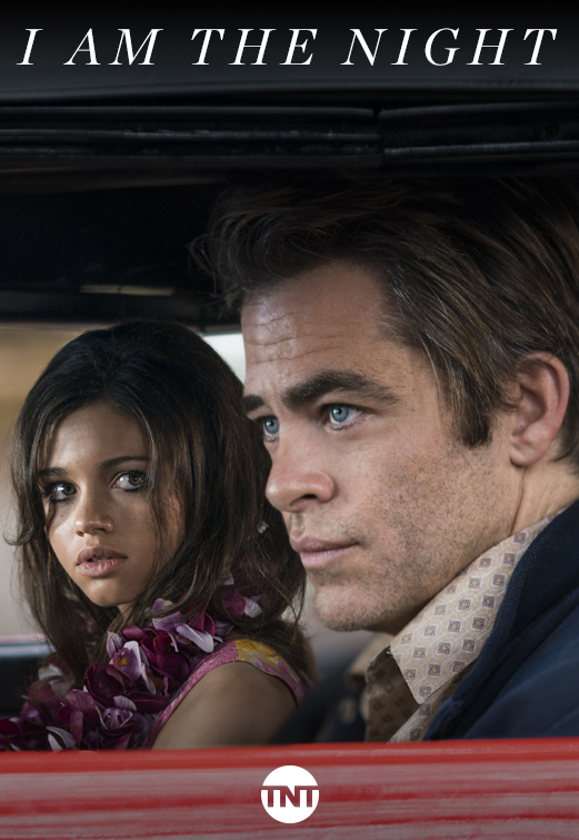 Chris Pine and India Eisley in I Am the Night (2019)