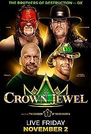 WWE Crown Jewel Poster