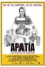 Apatía, una película de carretera Poster