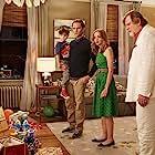 Neil Patrick Harris, Jonathan Winters, Brendan Gleeson, George Lopez, Anton Yelchin, John Oliver, Jayma Mays, and Jacob Tremblay in The Smurfs 2 (2013)