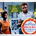 Lobby card from the Lorraine Hansberry drama 'A Raisin in the Sun' (Columbia Pictures), directed by Daniel Petrie and starring Sidney Poitier, Claudia McNeil, Ruby Dee, Diana Sands, Ivan Dixon, Louis Gossett, and Roy Glenn, Chicago, Illinois, 1961.