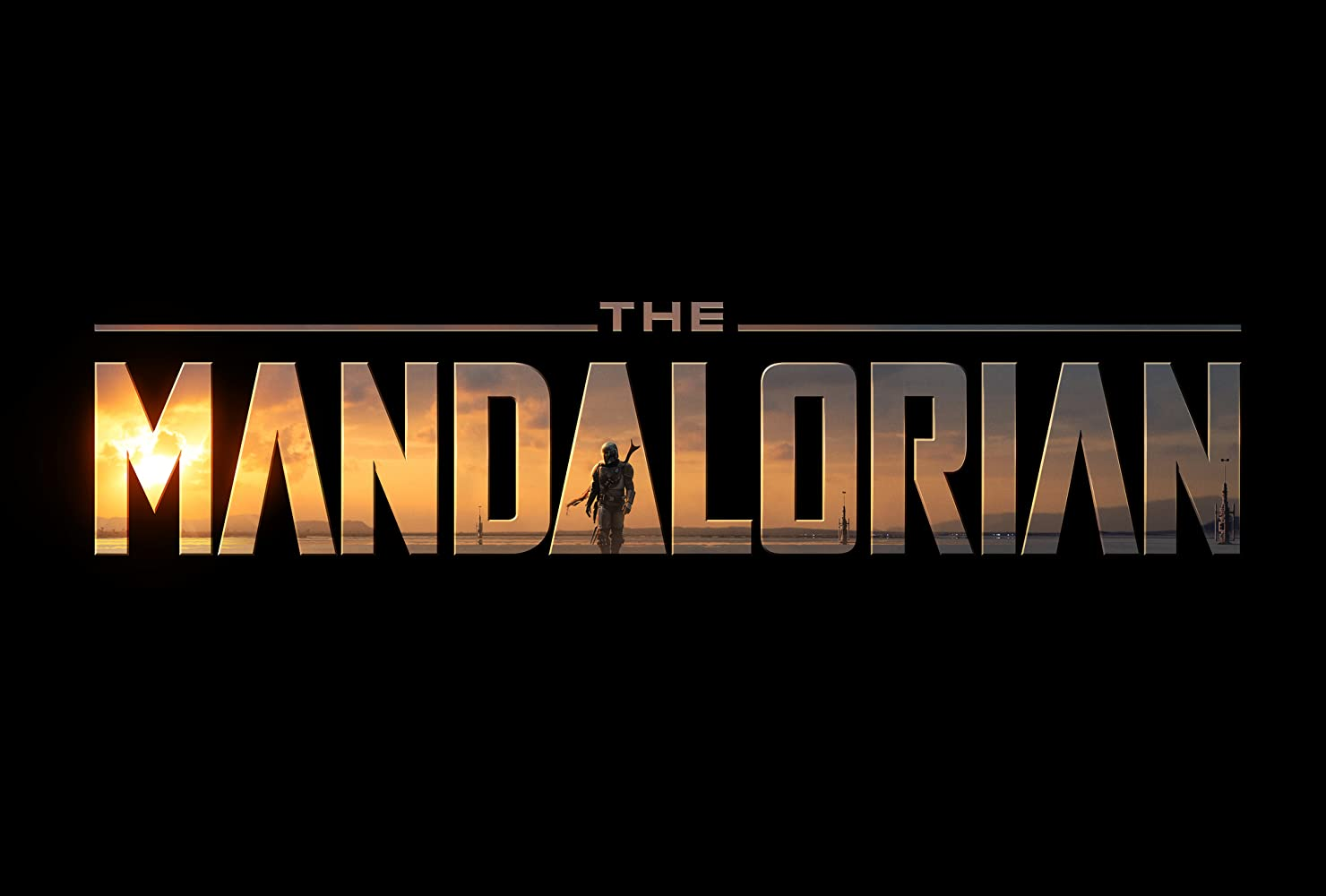 The Mandalorian title card
