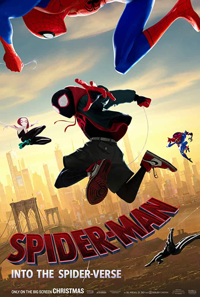 Spider Man: Into the Spider Verse (2018) 720p HEVC HDRip x265 ESubs [Dual Audio] [Hindi (Cleaned) or English] [550MB] Full Hollywood Movie Hindi