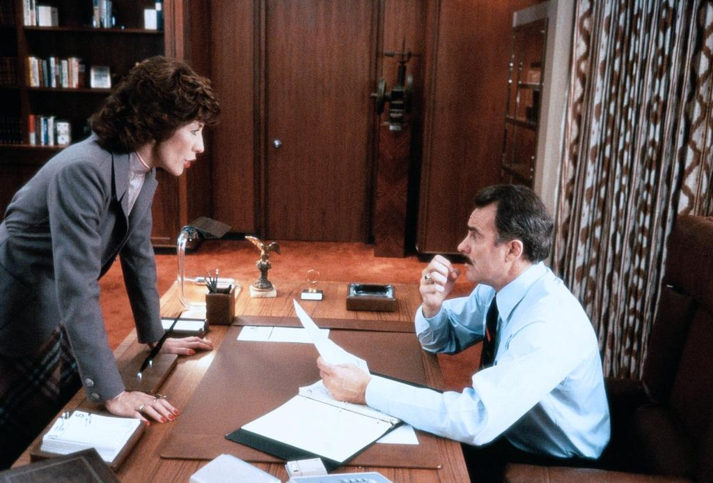 Dabney Coleman and Lily Tomlin in Nine to Five (1980)