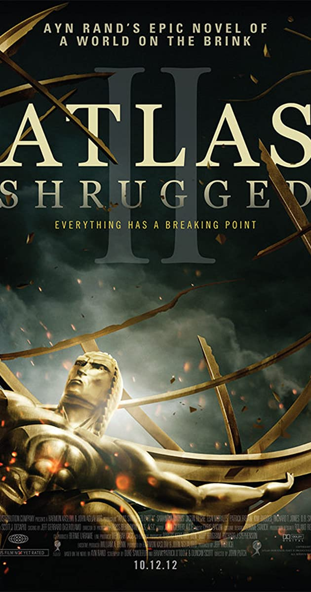 Subtitle of Atlas Shrugged II: The Strike