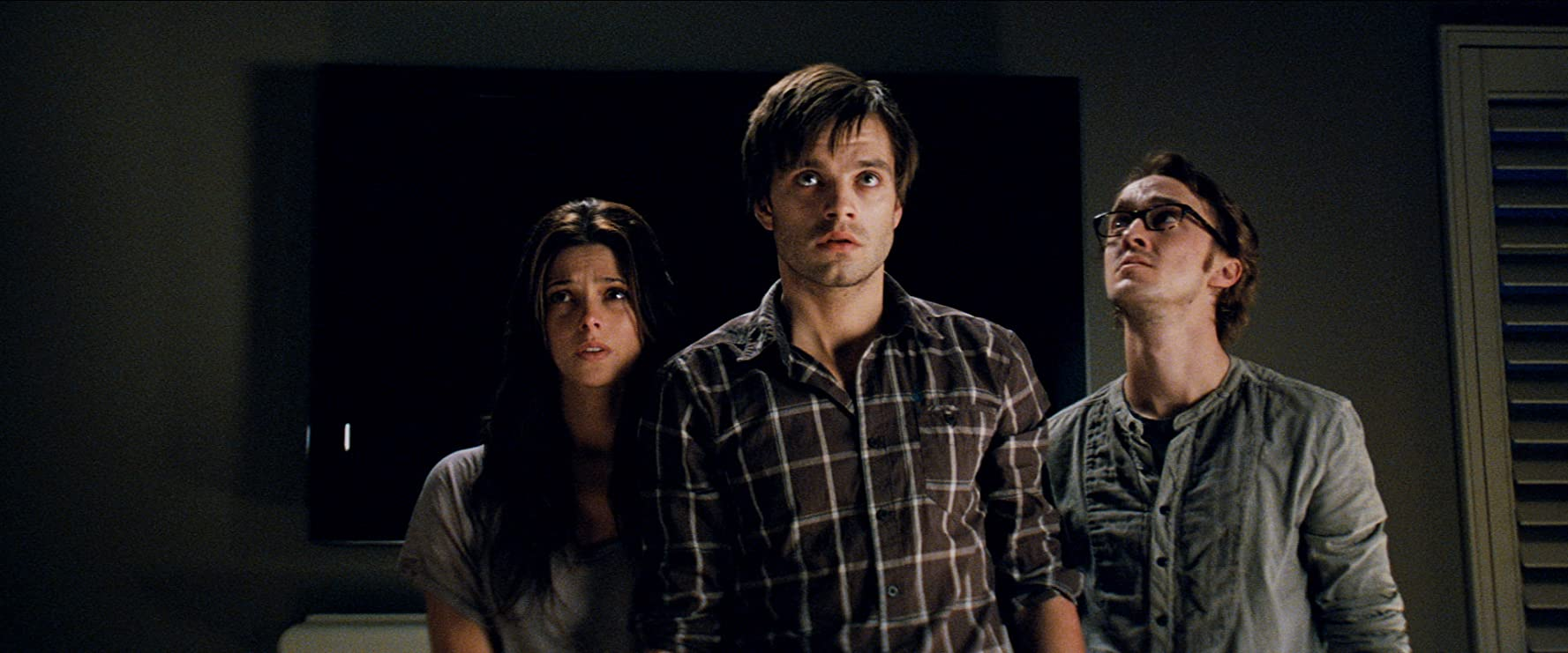 Tom Felton, Sebastian Stan, and Ashley Greene in The Apparition (2012)